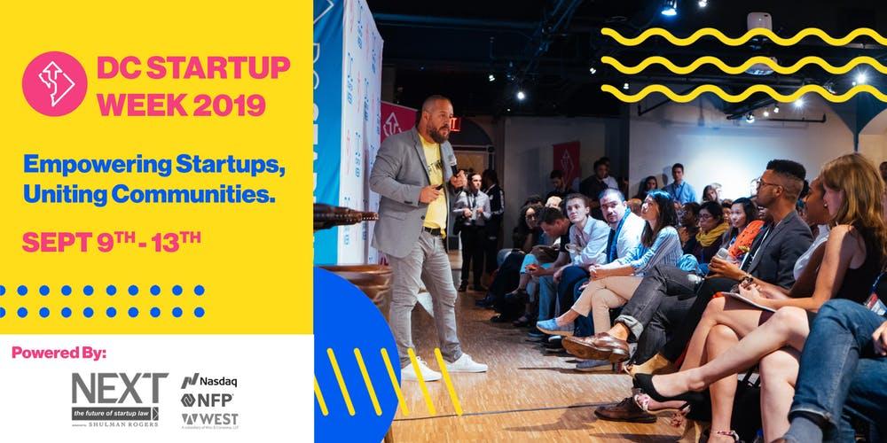 Registration is Open for DC Startup Week 2019 | Shulman Rogers
