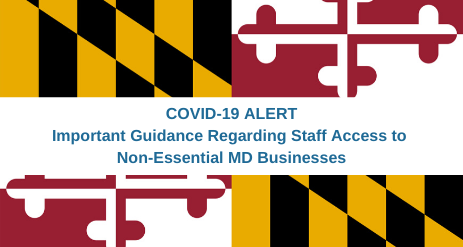 Update for MD Businesses